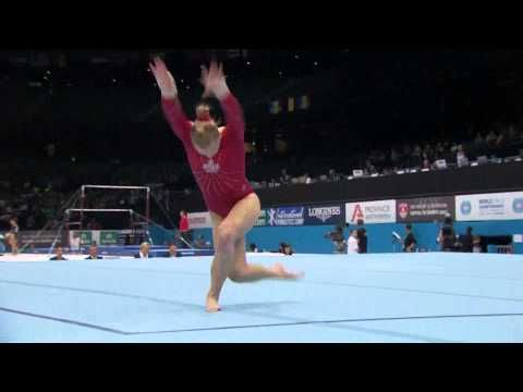 ▶ Canadian Ellie Black - Floor Routine - Women's Qualification 2013 World Championships - YouTube