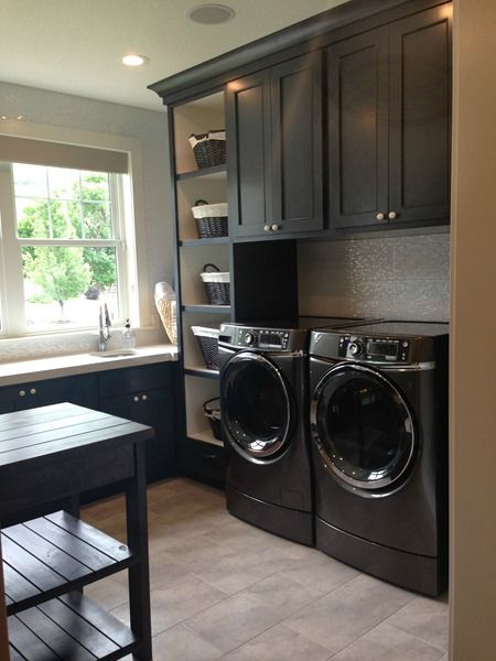 Laundry Room Stonington Gray By Benjamin Moore And Polo
