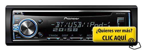 Pioneer DEH-X5800BT - Radio CD con sintonizador... #autoradio #pioneer