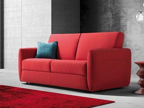 Fabric sofa bed ARGOS by Gruppo Industriale Delta Salotti