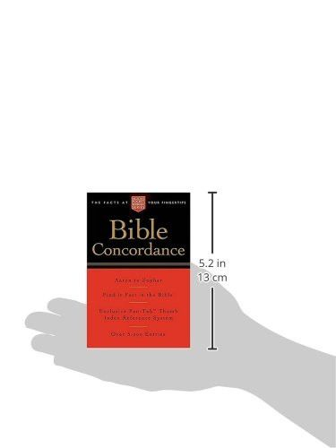 Pocket Bible Concordance: Nelson's Pocket Reference Series