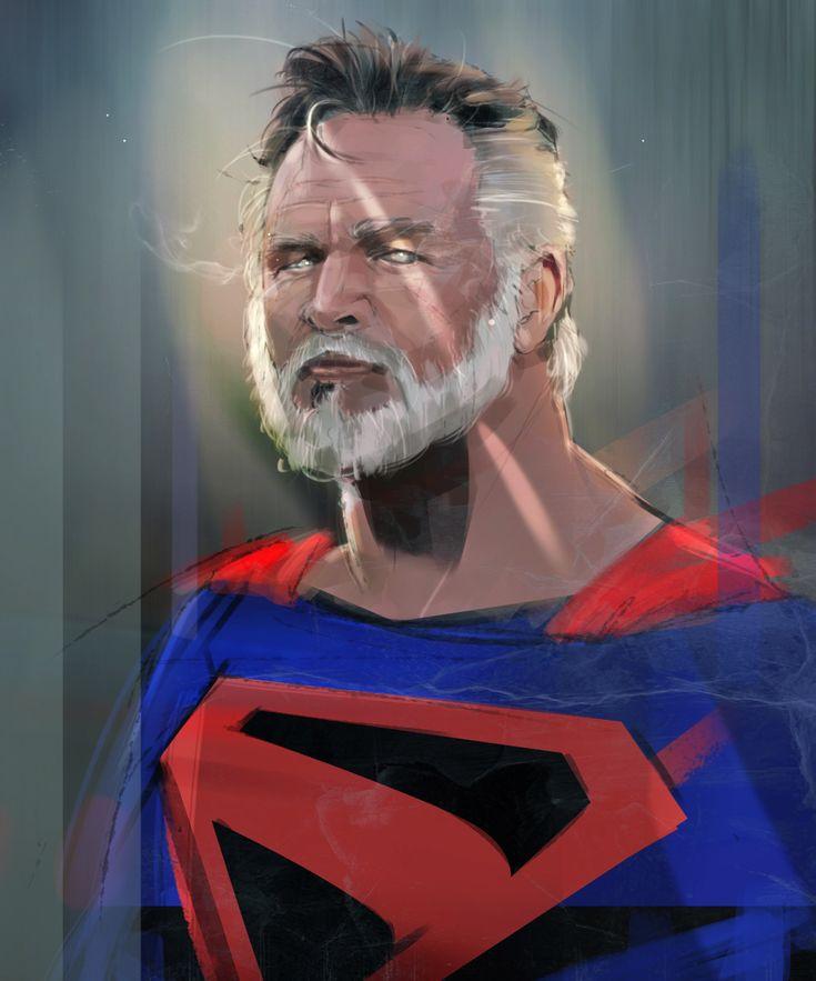 Old Superman / Kingdom come por frisbeeman - Personajes | Dibujando.net