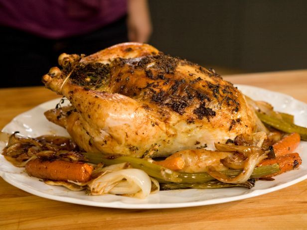 Roasted Chicken with Lemon, Garlic, and Thyme | Recipe