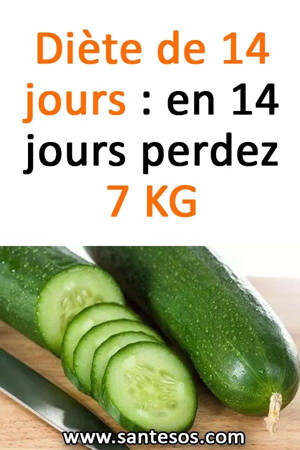 Un régime de 14 jours pour perdre jusqu'à 5 kilos !