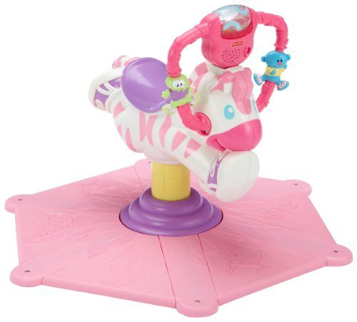 Fisher-Price Jouet d'Eveil Premier Age Zebre Tourni-Rebond rose Fisher-Price http://www.amazon.fr/dp/B002DGTGFE/ref=cm_sw_r_pi_dp_Rp40vb1S9J0DR