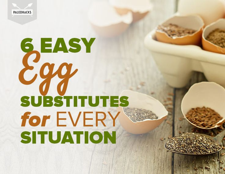 6 Easy Egg Substitutes for Every Situation
