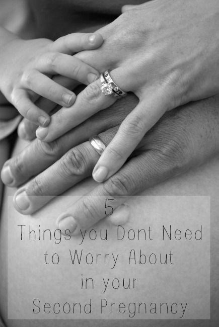 5 things you don't need to worry about in your second pregnancy
