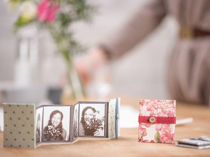 DIY-Anleitung: Süßes Mini-Leporello-Album selber machen via DaWanda.com