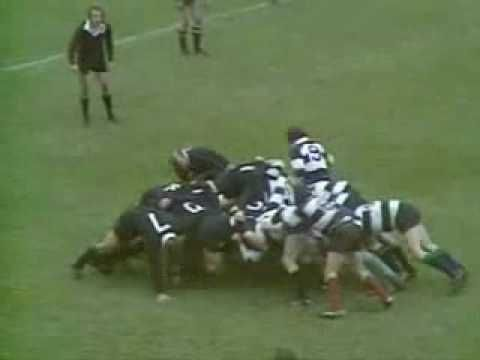 Total. Rugby total....All Blacks vs The Barbarians - Cardiff Arms Park 1973.
