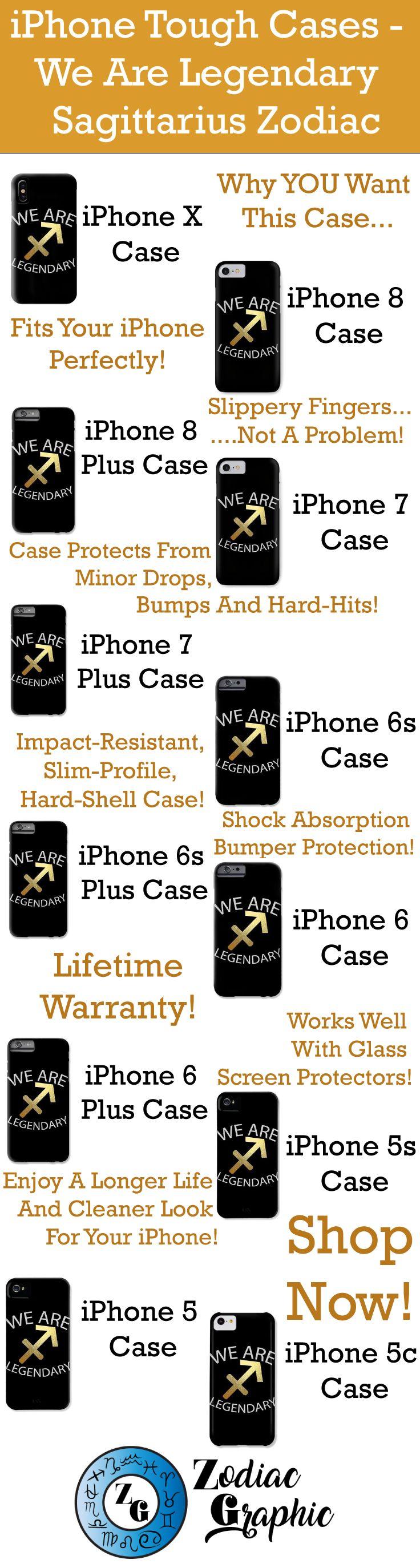 iPhoneX || iPhone 8 || iPhone 8 Plus || iPhone 7 || iPhone 7 Plus || iPhone 6s || iPhone 6s Plus || iPhone 6 || iPhone 6 Plus || iPhone 5s || iPhone 5 || iPhone 5c || We Are Legendary Sagittarius - Phone Case | Zodiac || Zodiac Sign || Zodiac Gift || Sagittarius || Sagittarius Zodiac Gift || Gift For Sagittarius || November Birthday Gift || December Birthday Gift