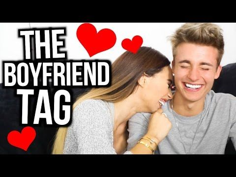 The Boyfriend Tag! | Mylifeaseva and WeeklyChris - YouTube