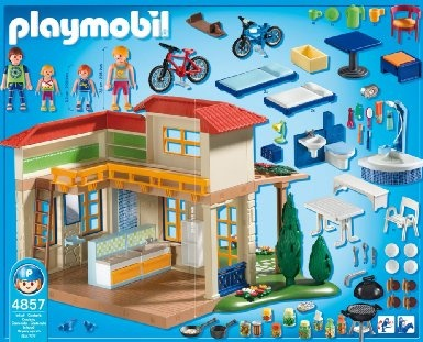 Mais de 1000 ideias sobre playmobil 4857 no pinterest for Piscine playmobil