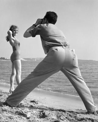 Pose , photo by Kees Scherer 1950's