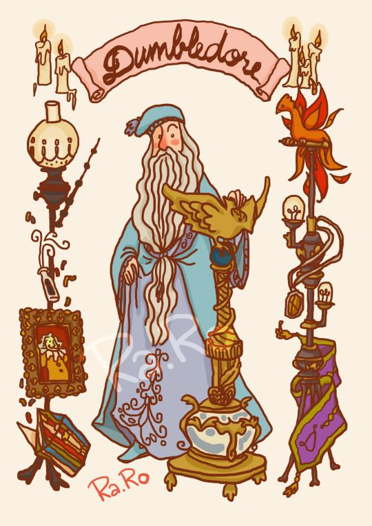 Dumbledore by RaRo81 #harrypotter #fanart