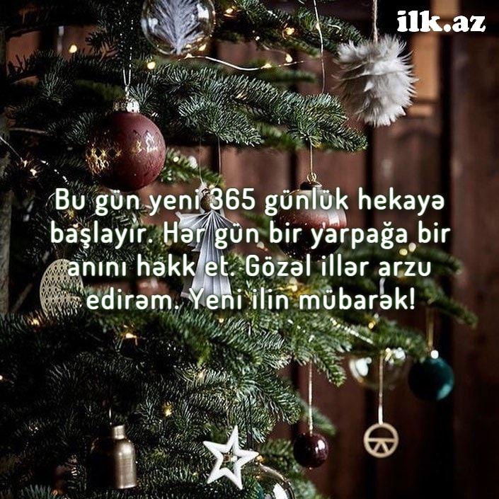 Yeni Il Təbriki Christmas Ornaments Holiday Decor Novelty Christmas