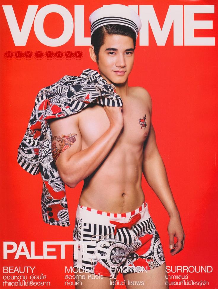 Mario Maurer มาริโอ้ เมาเร่อ. Thai Actor. VOLUME Magazine, March 2011