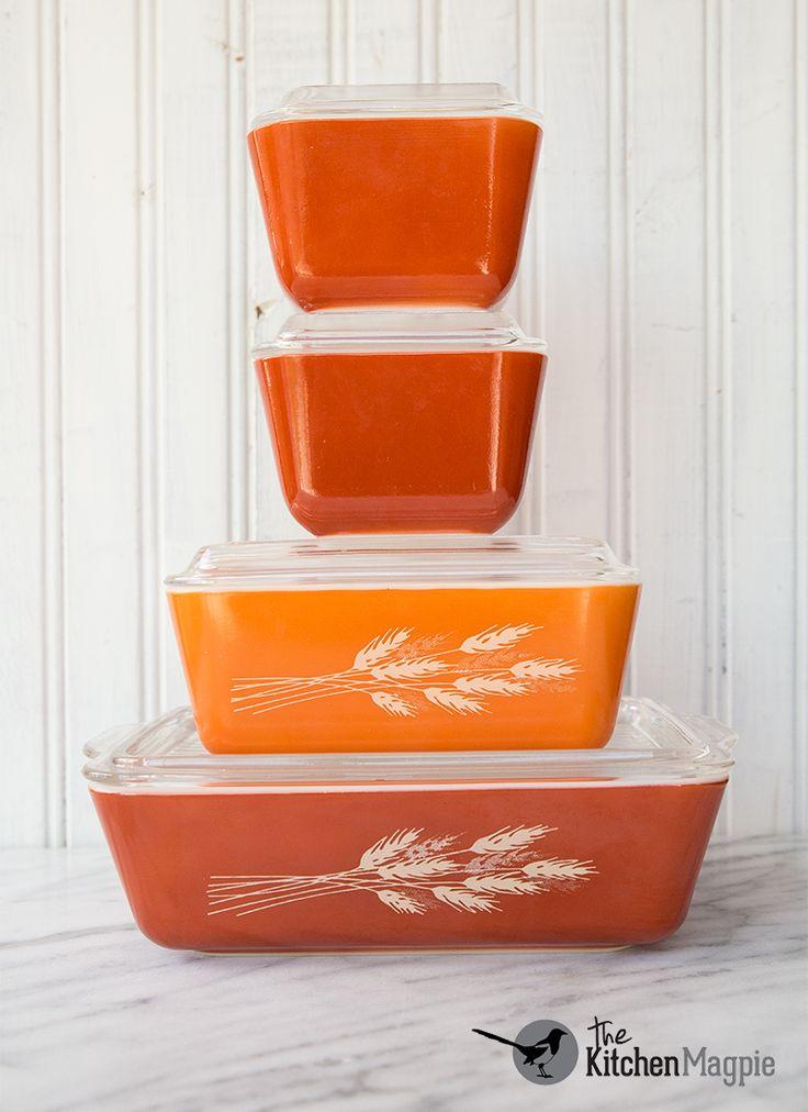 Pyrex Autumn Harvest Refrigerator Set
