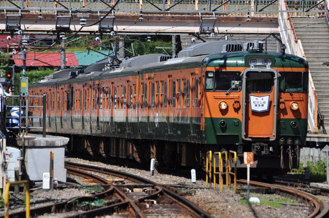 115系近郊形電車 - 日本の旅・鉄道見聞録