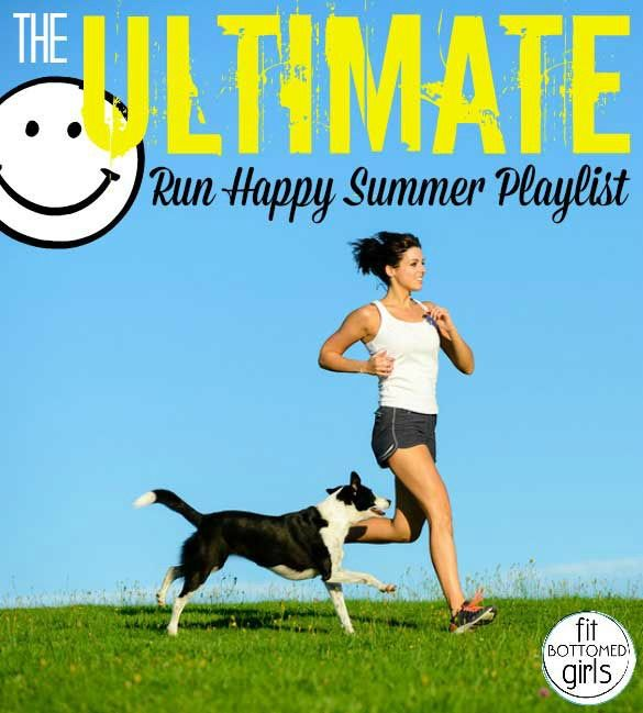 It's official --- FBG has come up with the best run happy playlist to fuel those long summer runs! | Fit Bottomed Girls