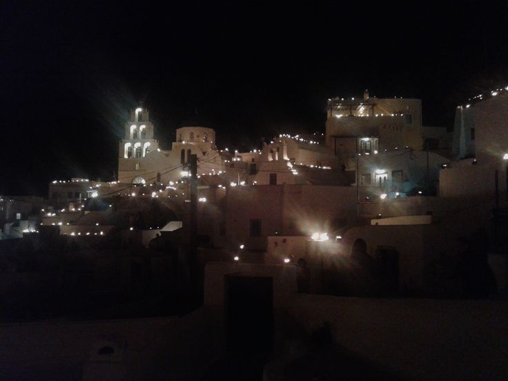 Pyrgos during Easter