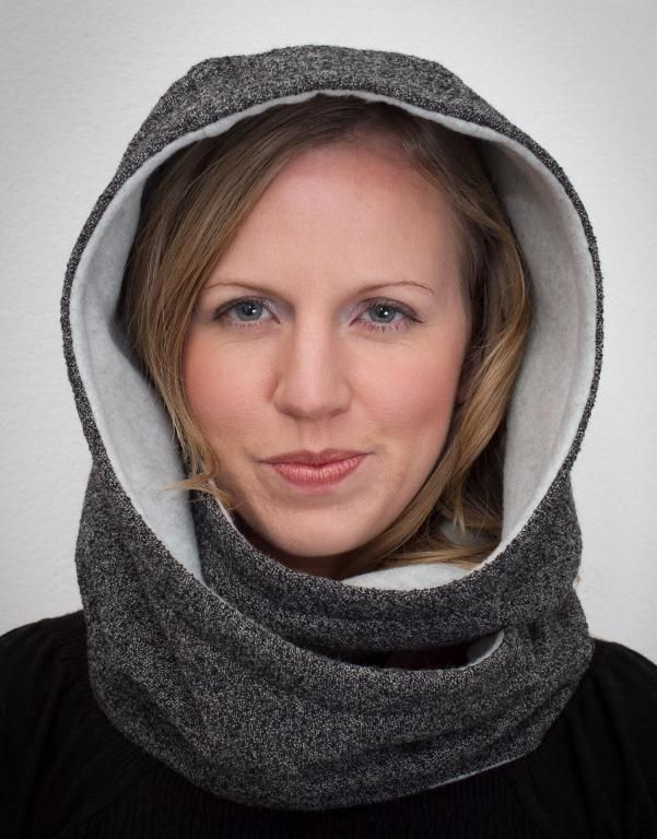 Hooded Scarf ... by Gina Renee | Sewing Pattern - Looking for your next project? You're going to love Hooded Scarf Pattern. Hood Scarf Sewing  by designer Gina Renee. - via /Craftsy/