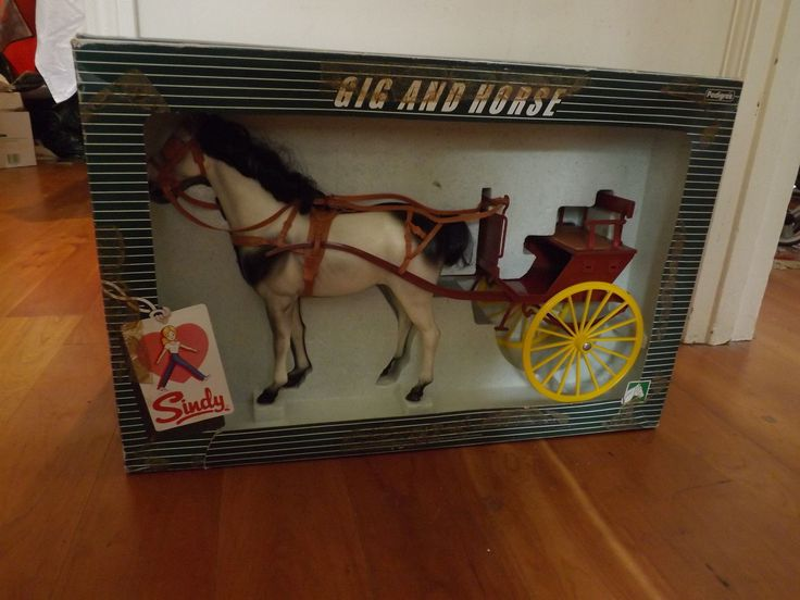 Vintage Pedigree Sindy Horse Gig and Cart BOXED in Dolls & Bears, Dolls, Clothing & Accessories, Fashion, Character, Play Dolls, Dolls, Sindy   eBay
