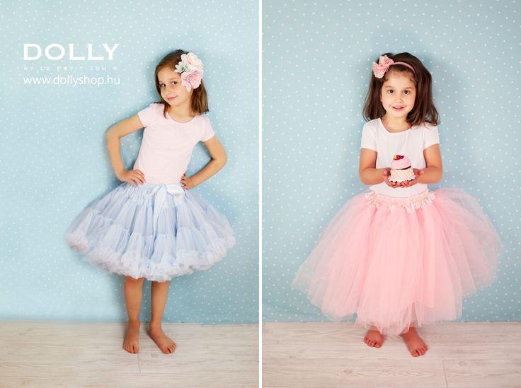 Light blue pettiskirt - Romantic long tutu www.dollyshop.hu Fotó: Umamira #tutu #pettiskirt #kids #lepetittom #dolly