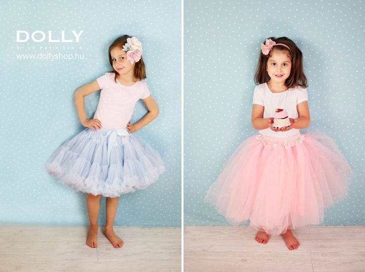Light blue pettiskirt - Romantic long tutu www.dollyshop.hu Fotó: Umamira #tutu #pettiskirt #kids #lepetittom #dolly