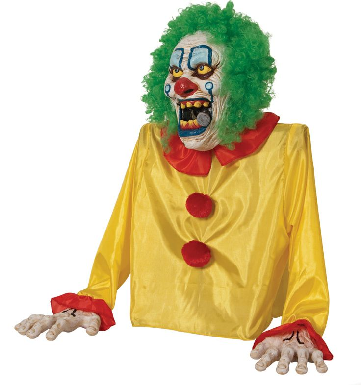 decorate the holidays smokey the clown animated fog 56 http - Animated Halloween Decorations
