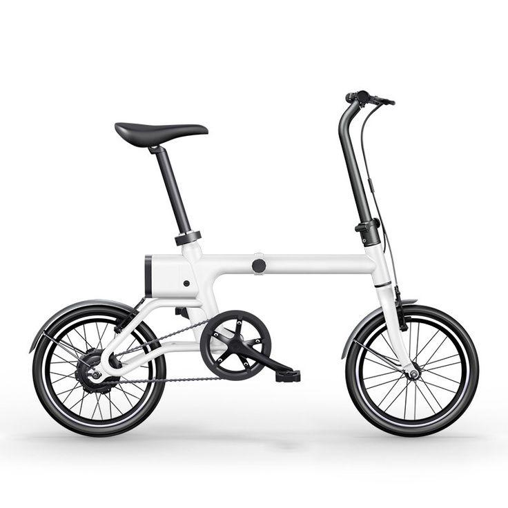 """Yunma intelligente faltende Energie unterstütztes elektrisches Fahrrad 14.9KG leichtes elektrisches Fahrrad 16 \""""120W 36V / 2.6AH Li-Ionbatterie-Mini fahrrad Verkauf - Banggood.com"""