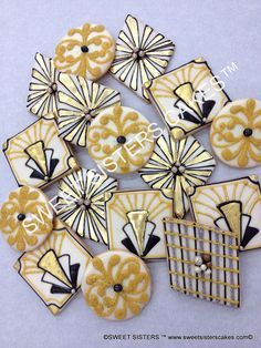 great gatsby themed sugar cookies - Google Search