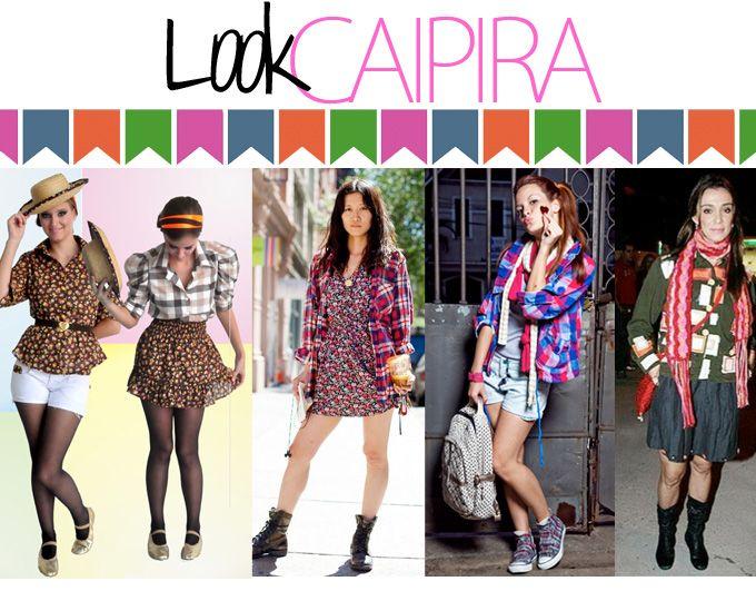 Maquiagem para Festa Junina: Look Caipira. Fonte: blog Loosho