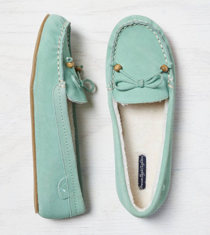 Mint AEO Moccasin