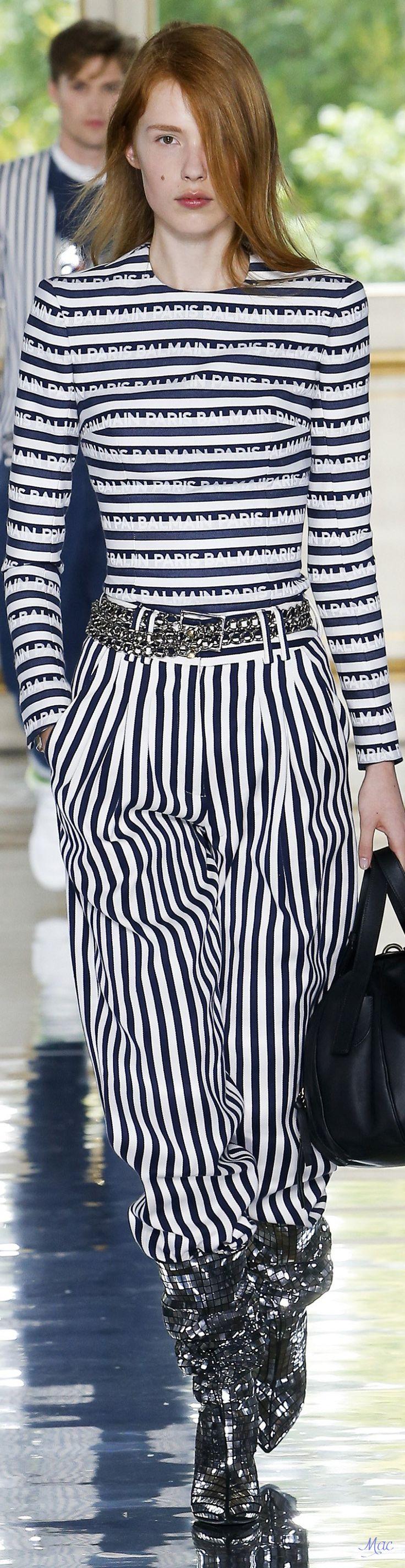 Spring 2019 Balmain | Menswear Collection