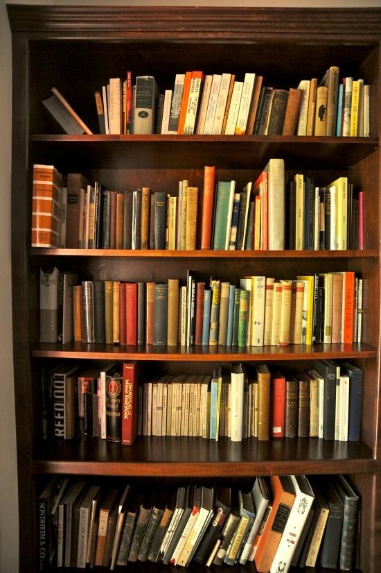 Library books shelf  The Gaiman Library