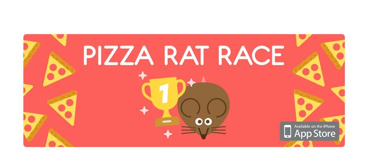 Pizza Rat Race game (Free) on Behance
