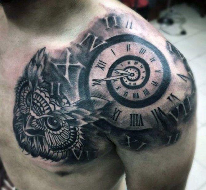 Upper Arm Simple Tattoo Designs For Men Shoulder