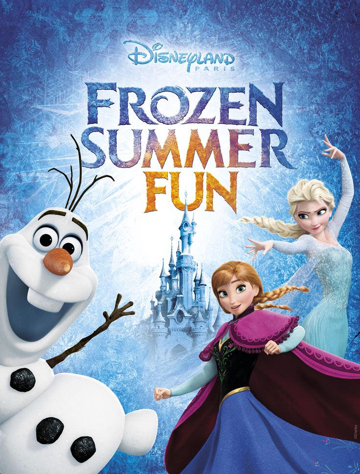 Get ready for the coolest summer EVER at #DisneylandParis! From June 1st to September 13th 2015 you can meet Anna, Elsa, Olaf and friends for some snow-tastic fun!