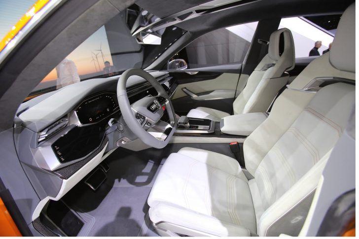 2018 Audi Q8 Pessanger Seats