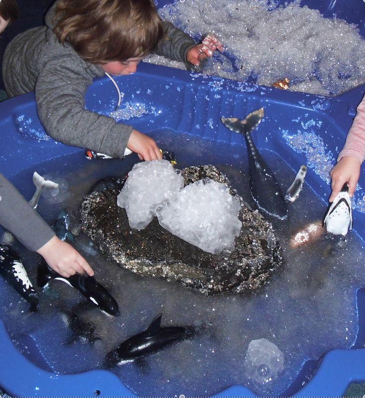 Antarctica Small World Play @ New Horizons Preschool