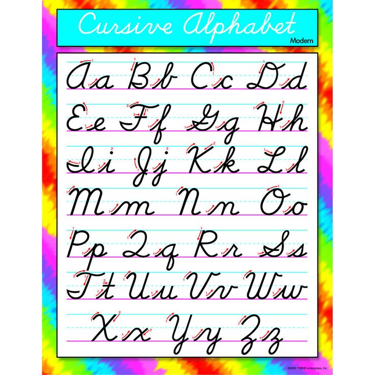 17 best ideas about Cursive Alphabet on Pinterest | Cursive fonts ...