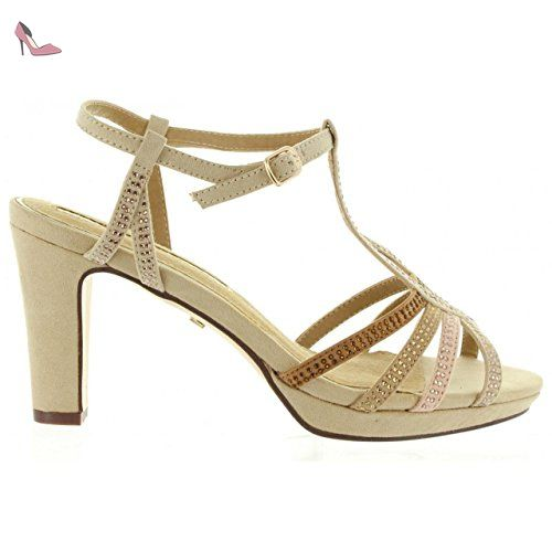 Maria Mare 66357 Marrón - Chaussures Sandale Femme