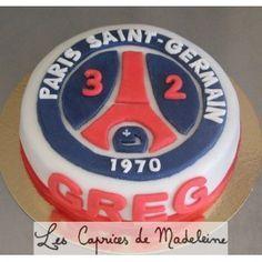 le gâteau foot PSG