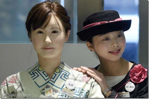 Un androide es la nueva recepcionista de unos grandes almacenes en Tokio - http://www.leanoticias.com/2015/04/20/un-androide-es-la-nueva-recepcionista-de-unos-grandes-almacenes-en-tokio/
