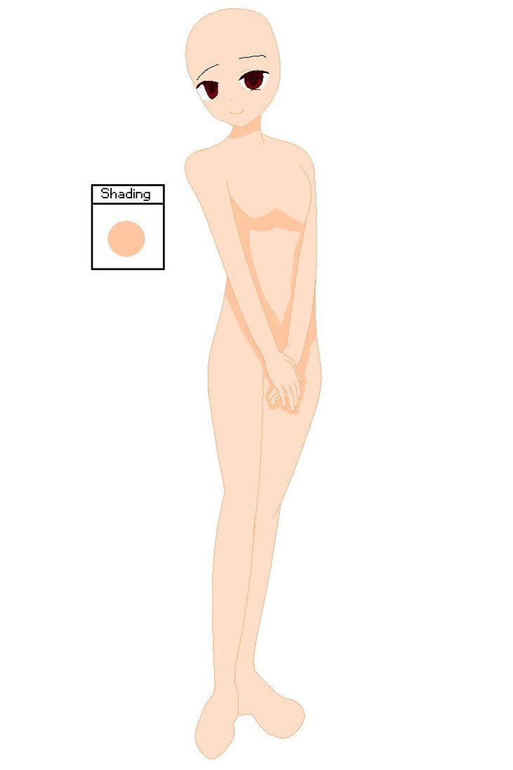 Anime Girl Standing Base