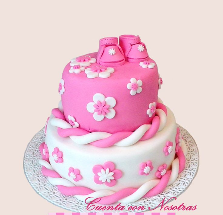 Torta baby shower Torta babyshower Torta zapatitos