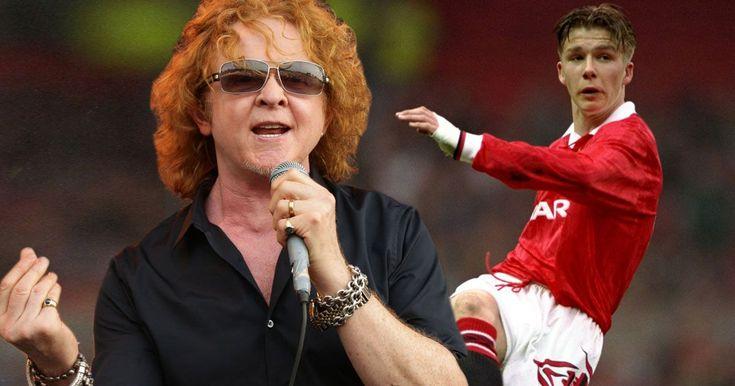 Mick Hucknall bought David Beckham's boots for £20,000 outbidding ...