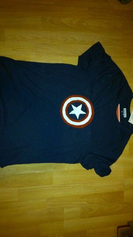 Amerika kapitányos póló :)