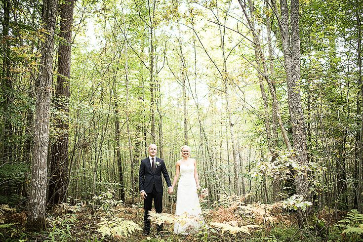 Preview of Maria and Johan's autumn wedding in Växjö and Osaby in Sweden