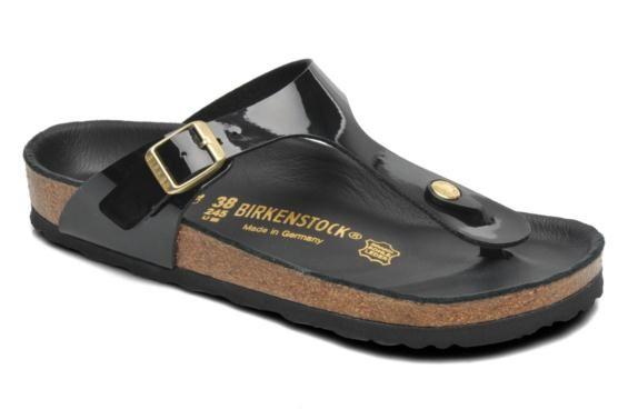 Birkenstock Gizeh Flor W (Bred model) Flip flops & klipklapper 3/4 billede